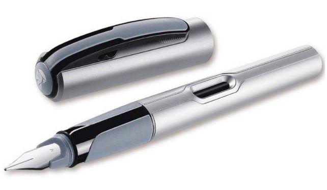 zzStilou Pelikan,Style Silver,penita F