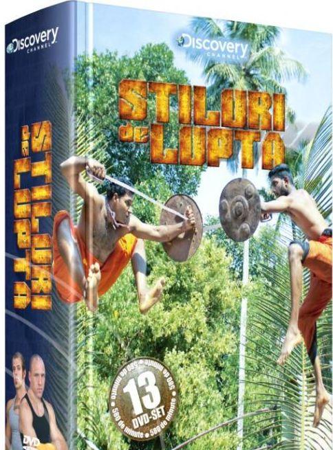STILURI DE LUPTA DIGIPACK 13 DVD-URI