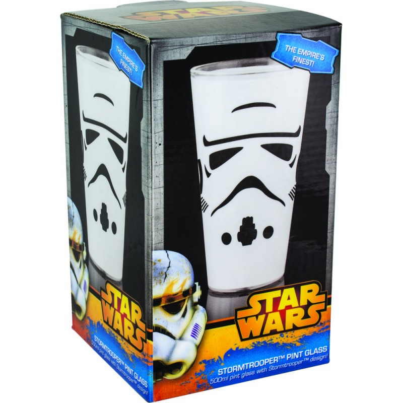 Stormtrooper Pint Glass