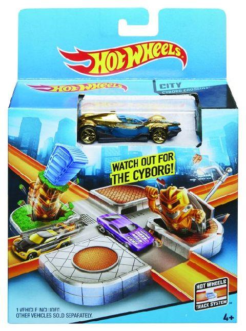 Strada/Intersectie,Hot Wheels,cu masinuta