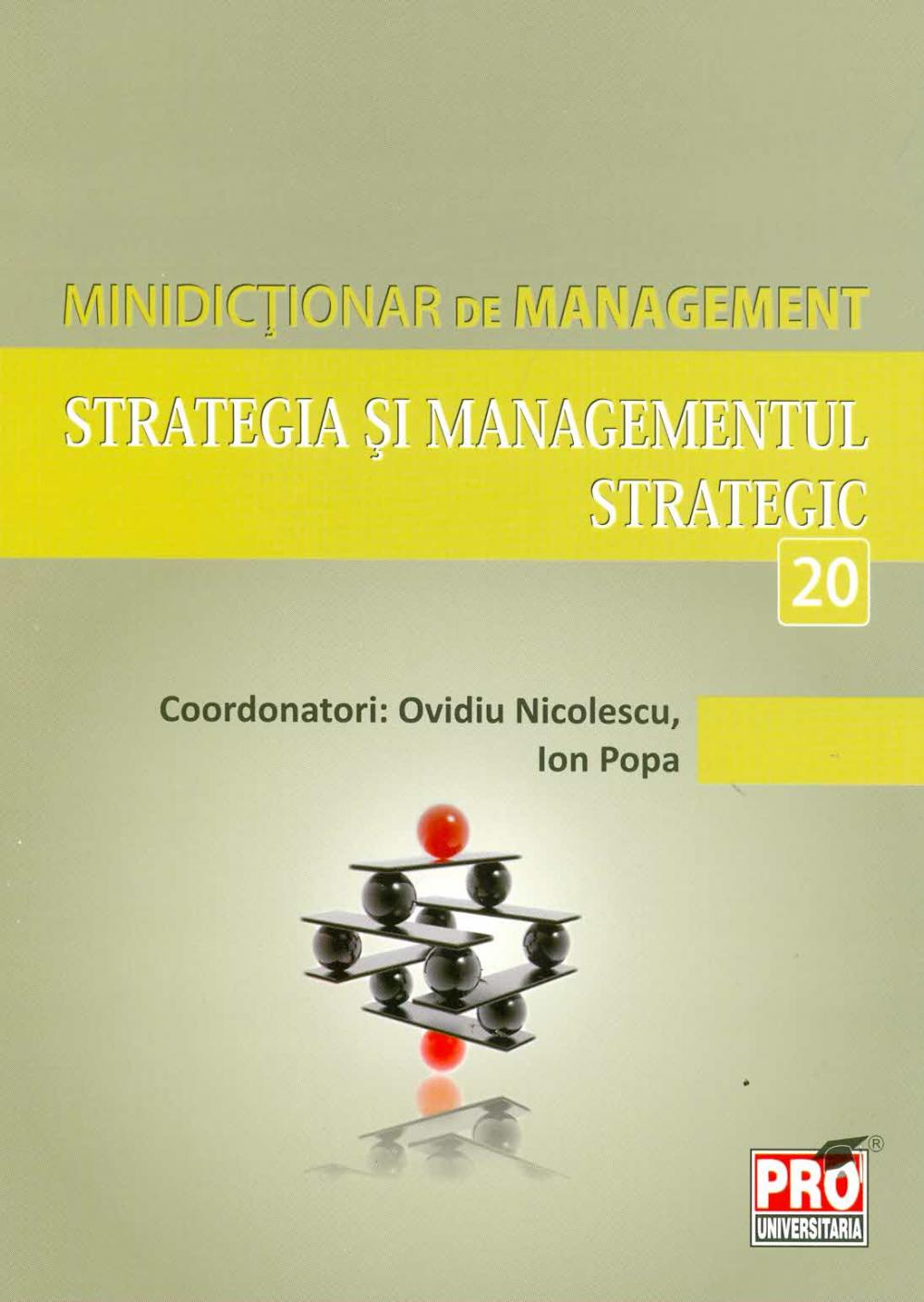STRATEGIA SI MANAGEMENTUL STRATEGIC