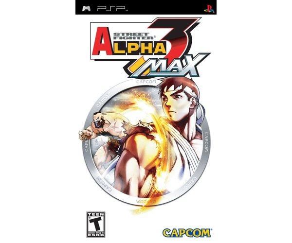STREET FIGHTER ALPHA 3 PSP