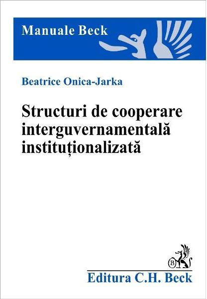 STRUCTURI DE COOPERARE INTERGUVERNAMENTALA  I