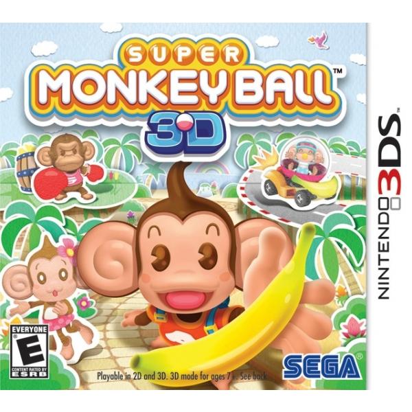 SUPER MONKEY BALL - 3DS