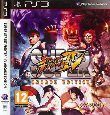 SUPER STREET FIGHTER 4 ARCADE EDITION - PS3