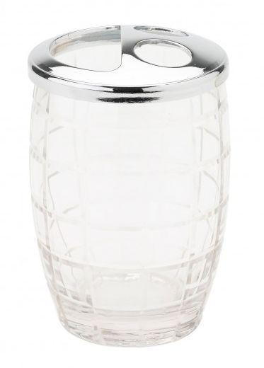 Suport din sticla periuta de dinti,Lisbeth Dahl,11cm