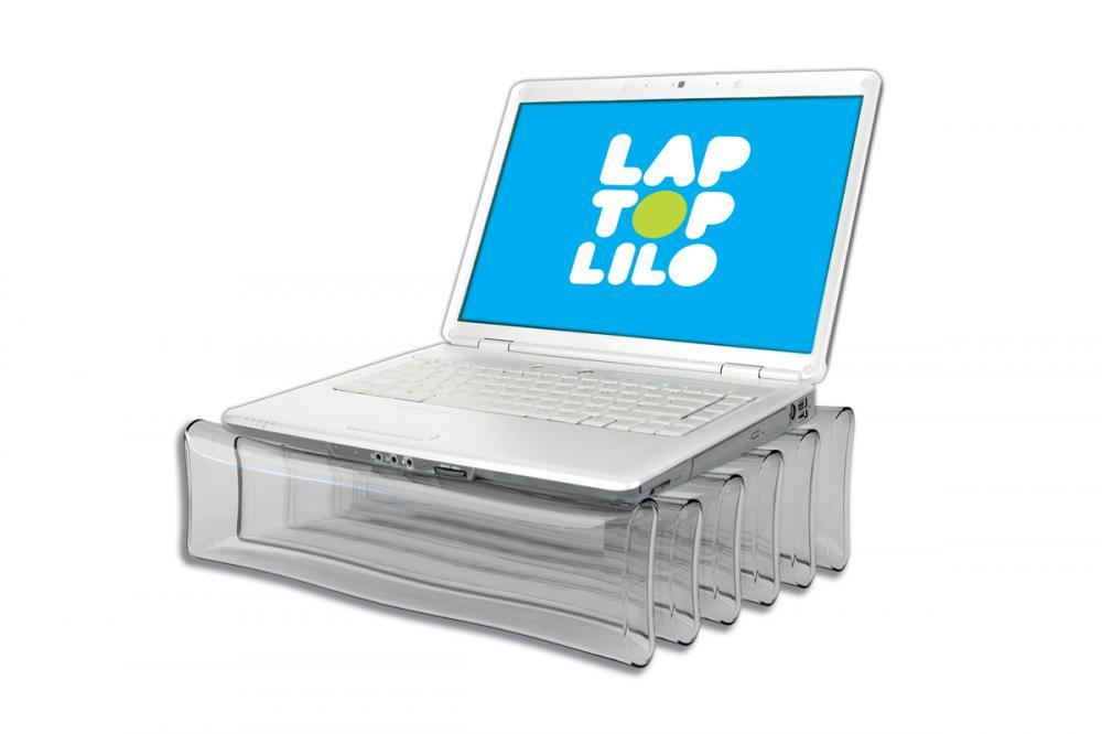 Suport gonflabil pentru laptop