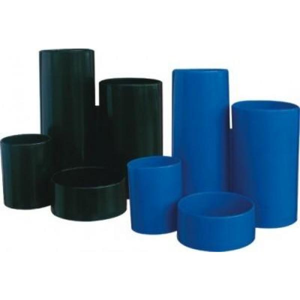 Suport instr.de scris 4comp.cilindrice,albast