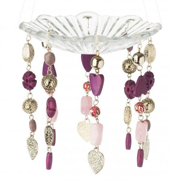 Suport lumanare cu accesorii Lisbeth Dahl, lavanda 00120