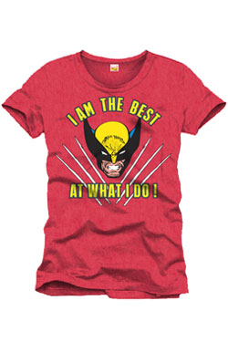 T-Shirt Wolverine I´m The Best Size L