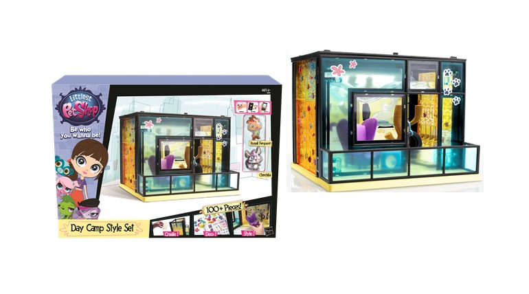 Tabara de zi,Littlest Pet Shop