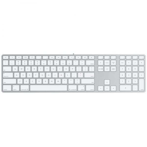 Tastatura Apple aluminiu RO cu fir