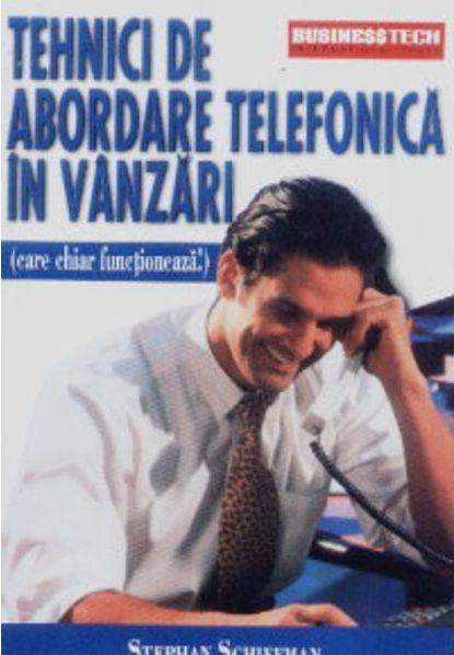 TEHNICI DE ABORDARE TELEFONICA IN VANZARI