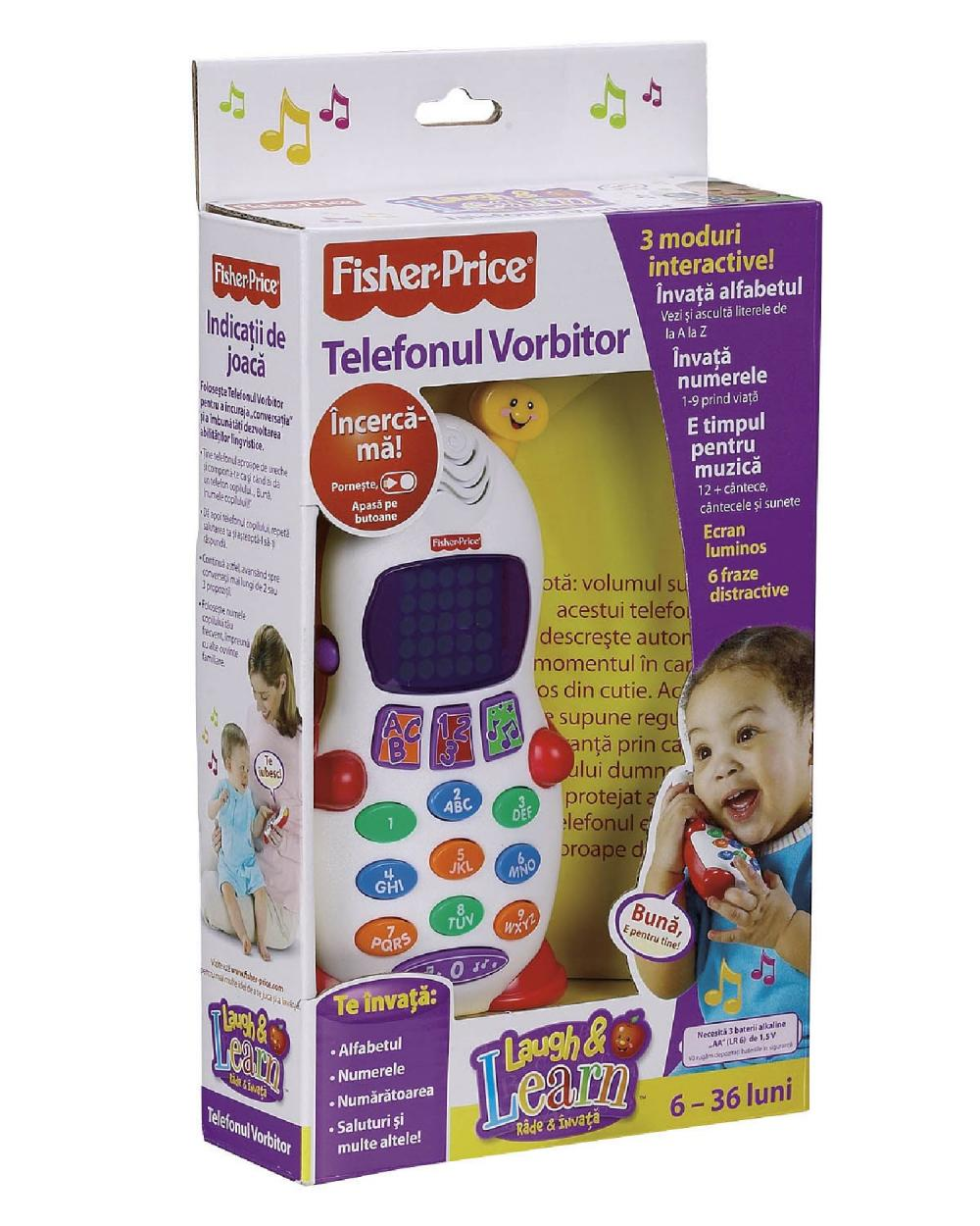 Telefon Vorbitor, Fisher Price