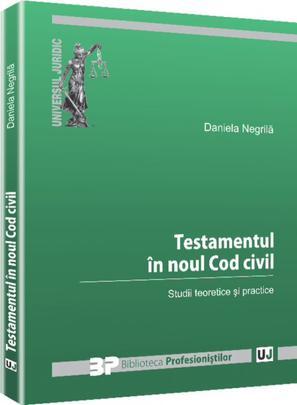 TESTAMENTUL IN NOUL COD CIVIL