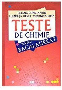 TESTE DE CHIMIE PENTRU BACALAUREAT