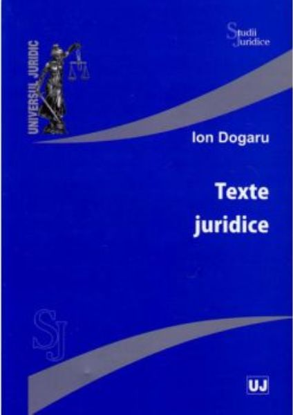TEXTE JURIDICE