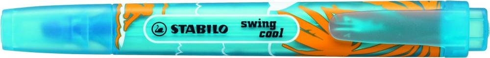 zzTextmarker Stabilo Swing Cool Beach,albastru