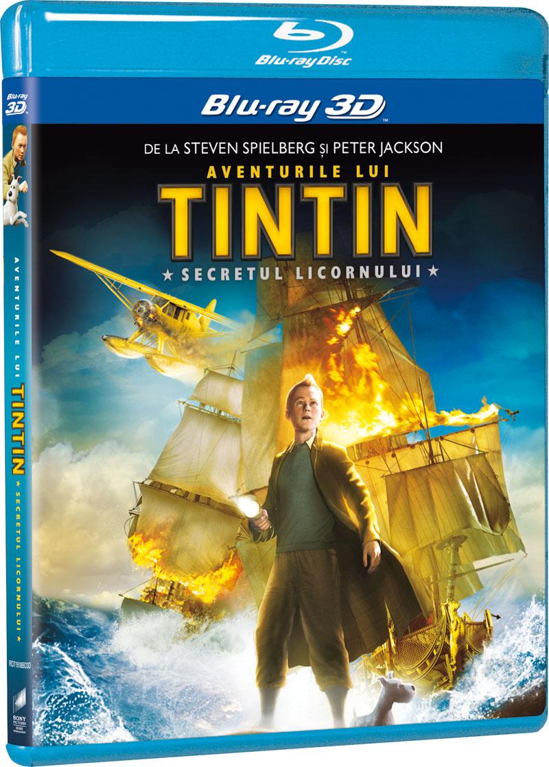 AVENTURILE LUI TINTIN 3D/2D -ADVENTURES