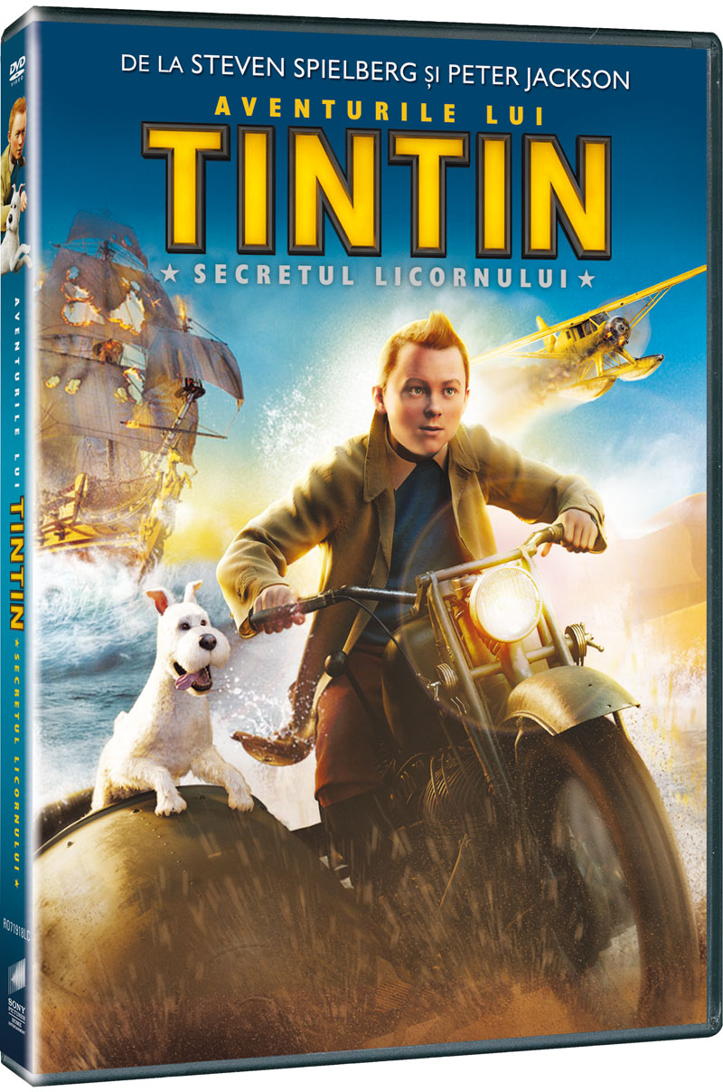 AVENTURILE LUI TINTIN-ADVENTURES OF TINT