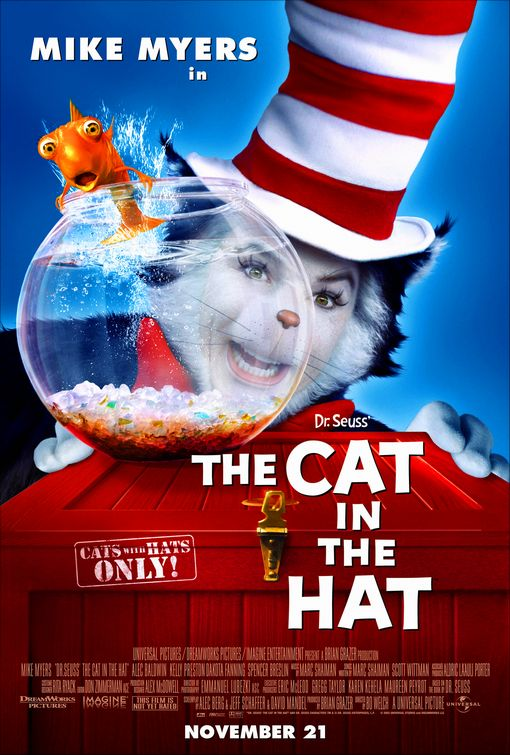 CAT IN THE HAT, THE - PISICA