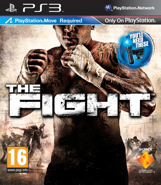THE FIGHT MOVE EDITION PS3