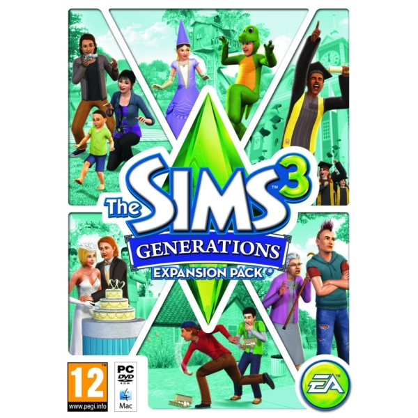 THE SIMS 3 GENERATIONS - PC