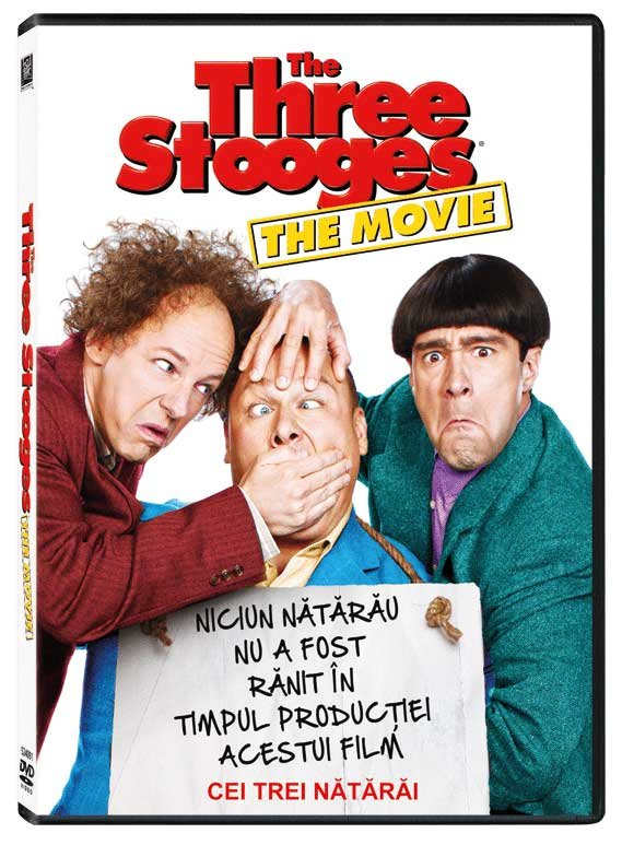 THE THREE STOGES DVD