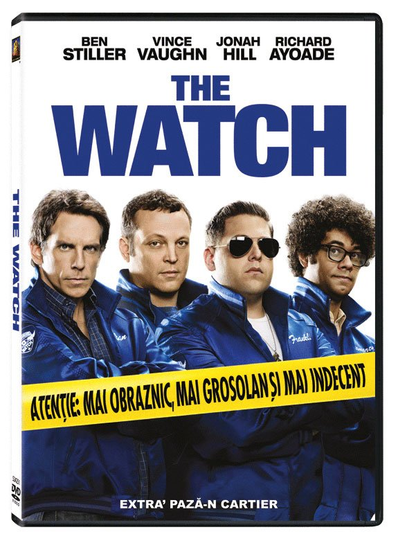 THE WATCH aka NEIGHBORHOOD WATCH DVD