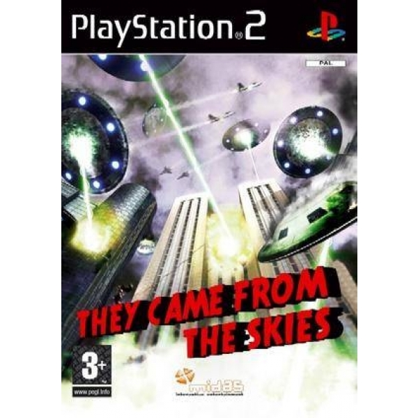 THEY CAME FROM THE SKIE PS2