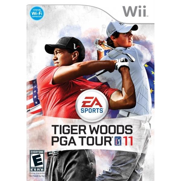 TIGER WOODS PGA TOUR 11 WII