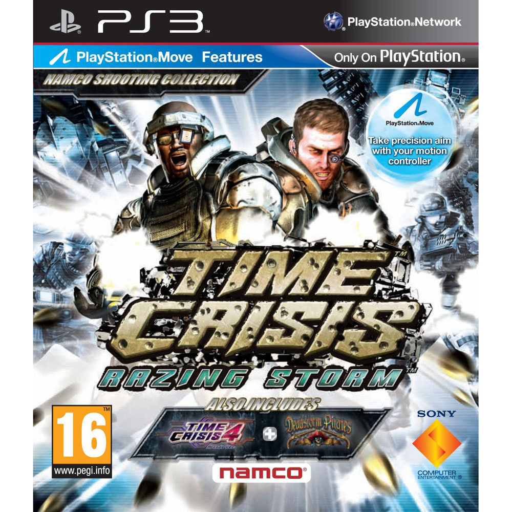 TIME CRISIS: RAZING STO PS3
