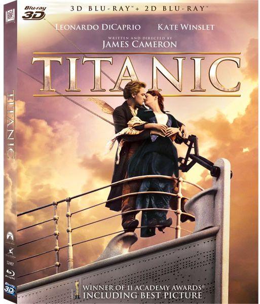 TITANIC (3D) (Restored - 4 discuri)-TITA