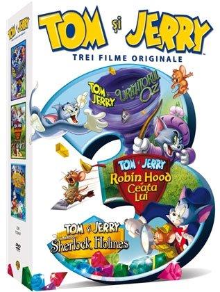 TOM & JERRY Trei filme originale (3 DVD)