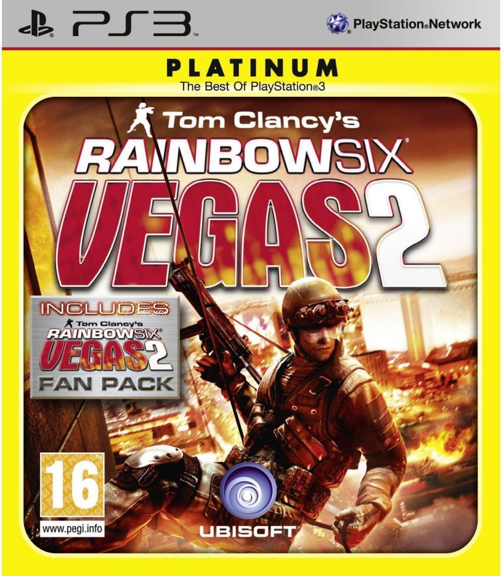 RAINBOW SIX VEGAS 2 COMPLETE ED PLAT PS3