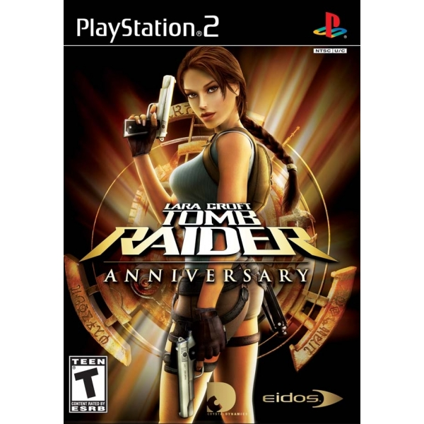 TOMB RAIDER ANNIVERSARY PS2
