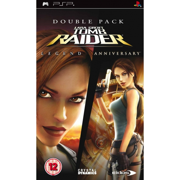 TOMB RAIDER LEGENDS & ANNIVERSARY PSP
