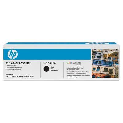 Toner HP negru CB540A pt 1215,2200pg