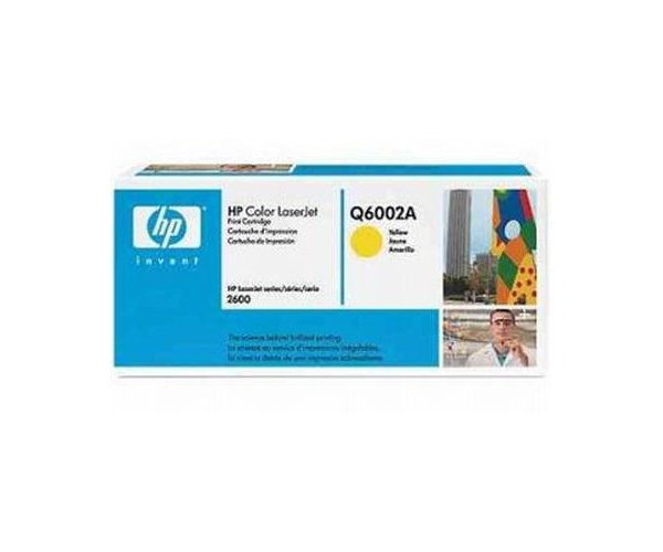 Toner HP yellow Q600 2A pt.HP2600 2000pg