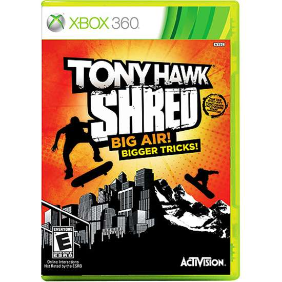 TONY HAWK SHRED BUNDLE XBOX360