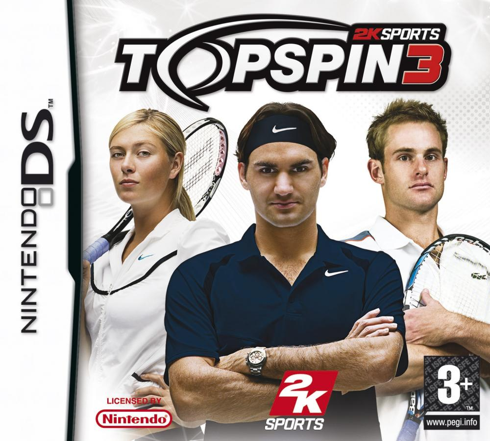 TOP SPIN 3 DS