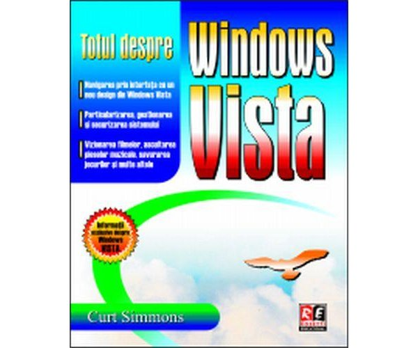 Totul despre windows vista reeditare, Curt Simmons