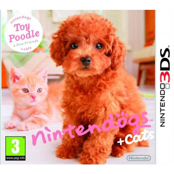 TOY POODLE & NEW FRIEND 3DS