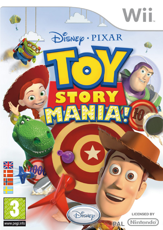 TOY STORY MANIA! WII
