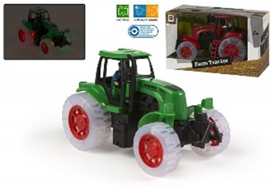 Tractor ColorBaby,sunet,lumini,frictiune