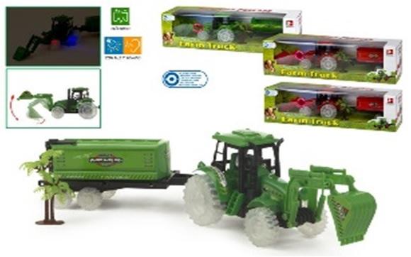 Tractor ferma ColorBaby,sunet,lumini