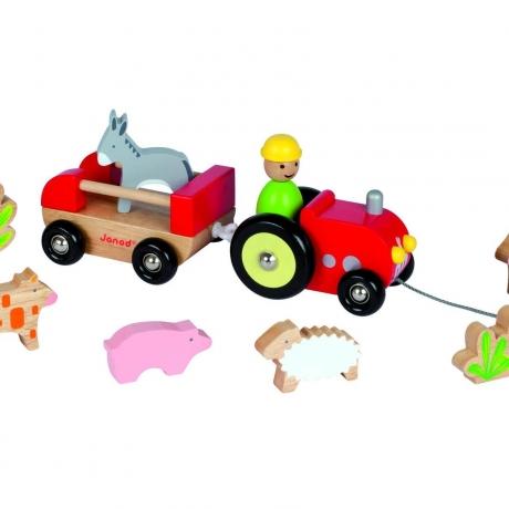 Tractorul cu animale