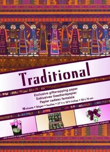 Traditional, gift paper