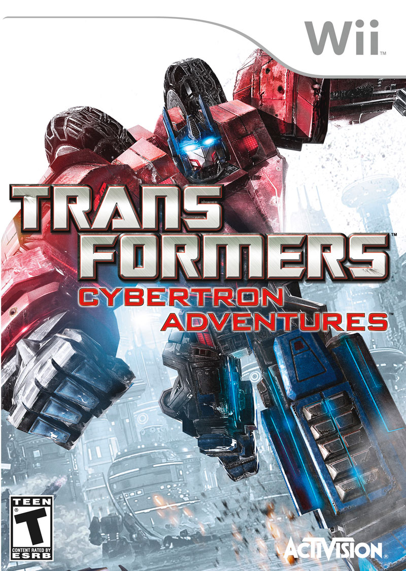 TRANSFORMERS CYBERTRON WII