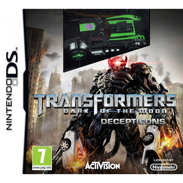 TRANSFORMERS DARK OF THE MOON DECEPTICONS - DS